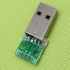 Male A-USB to DIP 4-Pin 2.54mm 4P Pinboard